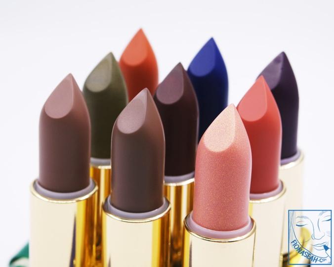 My L'Oreal Paris × Balmain lipstick haul!