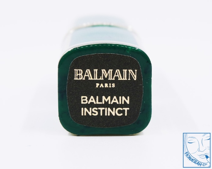 L'Oreal Paris × Balmain lipstick in Balmain Instinct