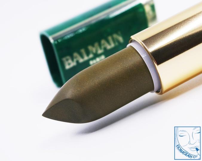 L'Oreal Paris × Balmain lipstick in Balmain Instinct (US$14 / S$28)