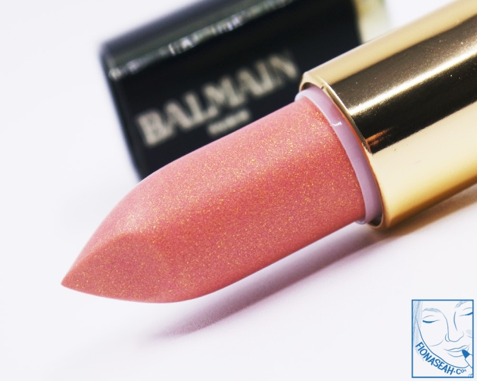L'Oreal Paris × Balmain lipstick in Confidence (US$14 / S$28)