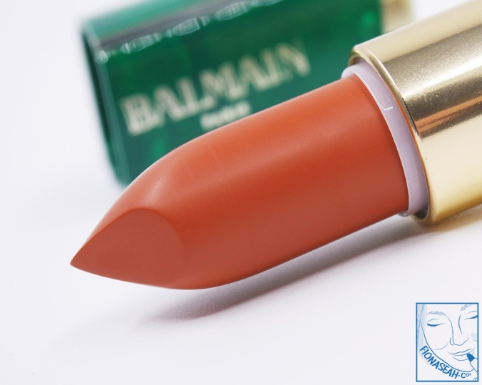 L'Oreal Paris × Balmain lipstick in Fever (US$14 / S$28)