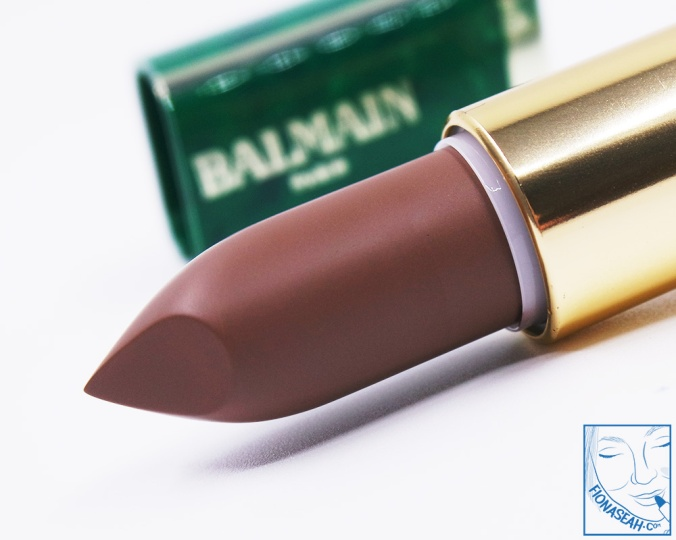 L'Oreal Paris × Balmain lipstick in Glamazone (US$14 / S$28)