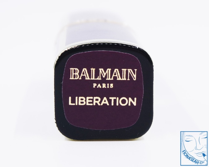 L'Oreal Paris × Balmain lipstick in Liberation