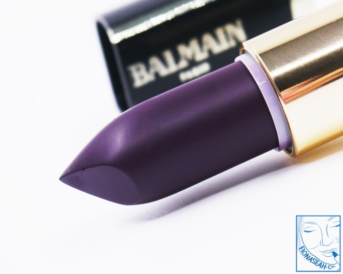 L'Oreal Paris × Balmain lipstick in Liberation (US$14 / S$28)