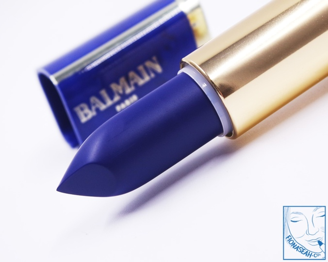L'Oreal Paris × Balmain lipstick in Rebellion (US$14 / S$28)