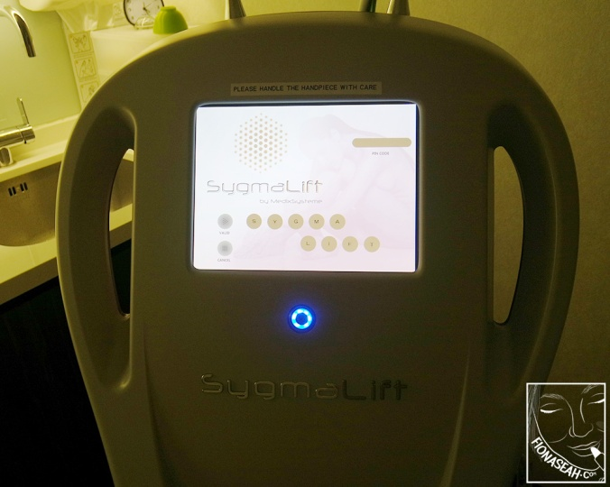 HIFU Sygmalift machine