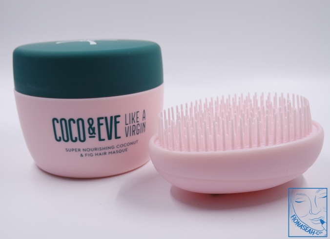 Product and brush (front view)