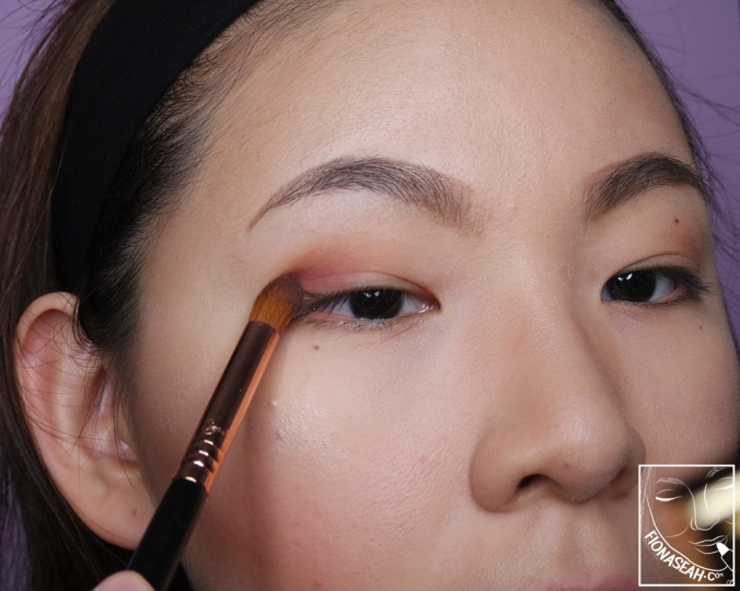 Mumtaz to define my eyes (and to create a subtle ombre!)