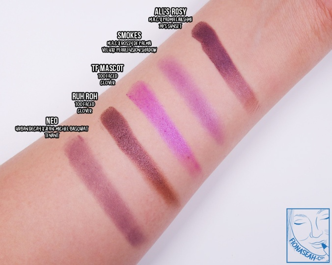 All's Rosy swatch comparisons