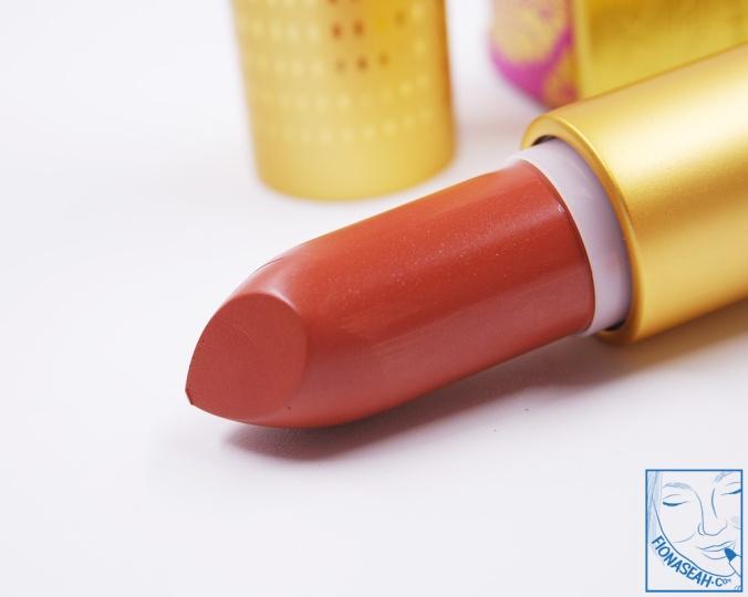 M·A·C× Padma Lakshmi lipstick in Apricot Gold (US$18.50)