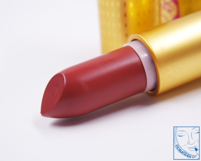 M·A·C× Padma Lakshmi lipstick in Nude Fudge (US$18.50)