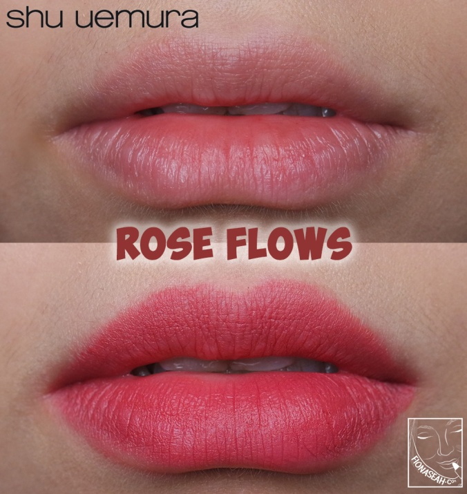 shu uemura × Yazbukey Rouge Unlimited Supreme Matte in Rose Flows
