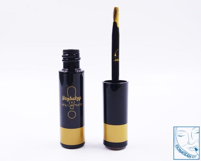 shu uemura × Yazbukey Magic Metallic Lip Liner in Gold-WOW