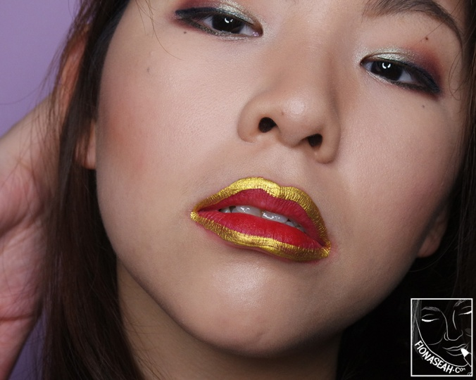 shu uemura × Yazbukey Magic Metallic Lip Liner in Gold-WOW