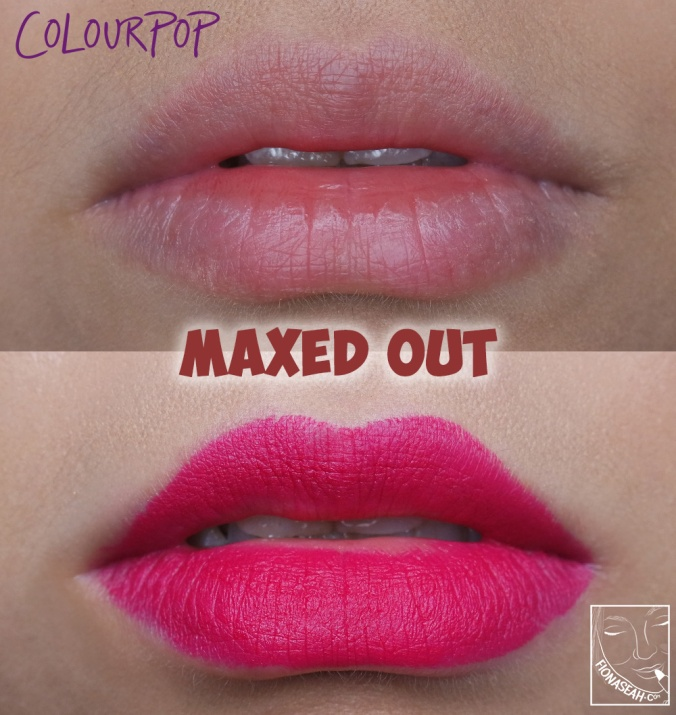 ColourPop Matte Lux Lipstick in Maxed Out