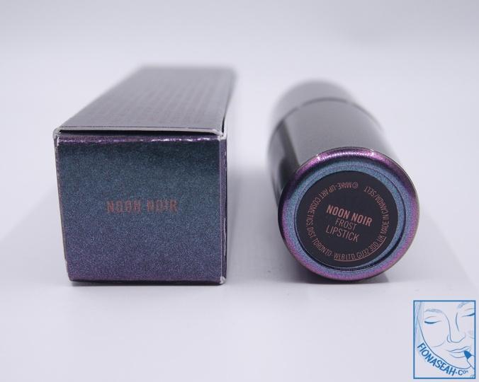 M·A·C Mirage Noir lipstick in Noon Noir
