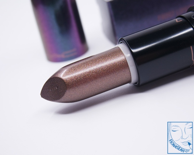 M·A·C Mirage Noir lipstick in Noon Noir (US$18.50)