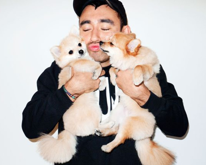 Chose this picture of Nicola Formichetti because #dogsarelife