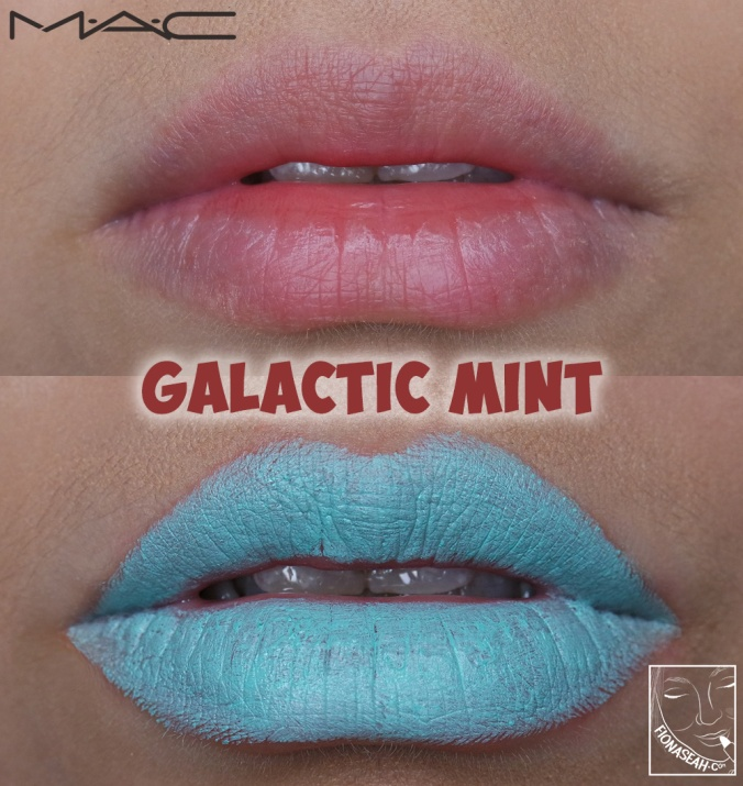 M·A·CNICOPANDA lipstick in Galactic Mint