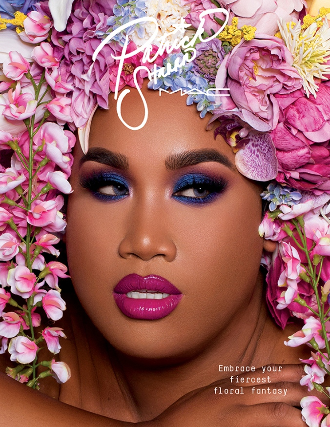 M·A·C × Patrick Starrr (PART II) - Floral Realness (lol he looks like me in my cover picture above)