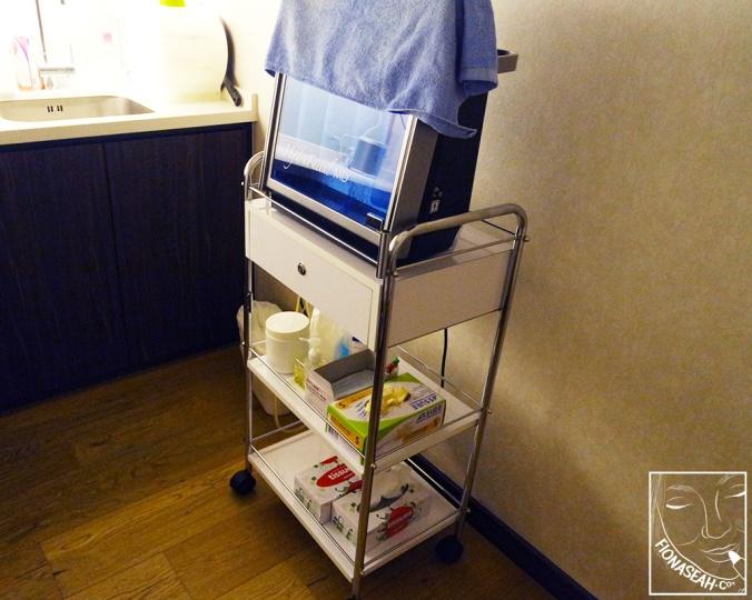 HydraFacial machine