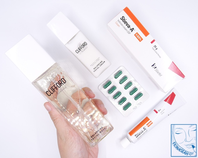 First set of topical products from The Clifford Clinic