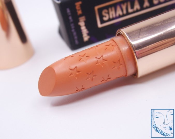 ColourPop × Shayla Lipstick in OOUUUU! (US$7)