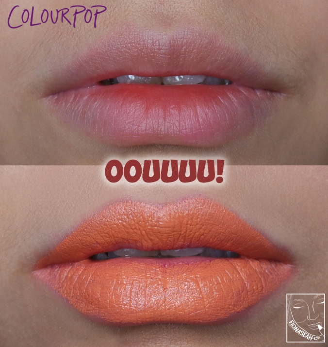 ColourPop × Shayla Lipstick in OOUUUU!
