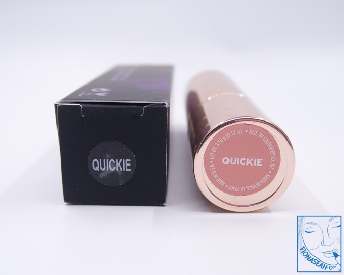 ColourPop × Shayla Lipstick in Quickie