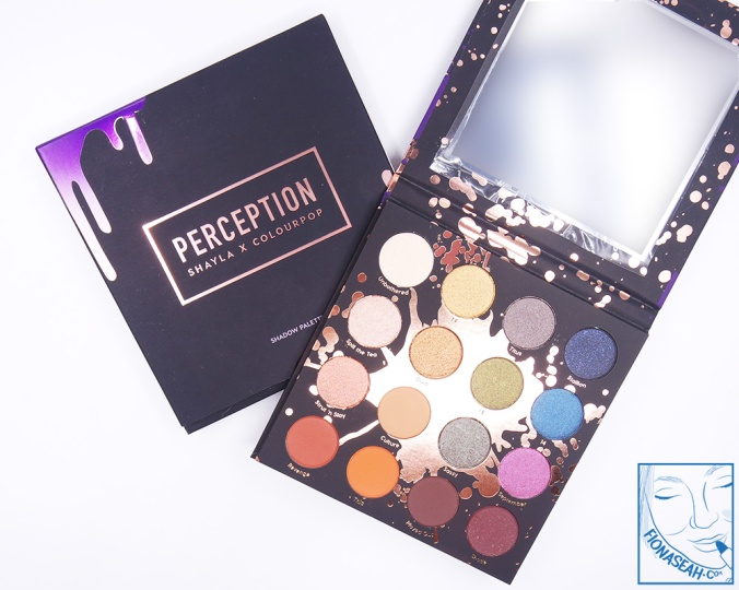 ColourPop × Shayla Perception Pressed Powder Shadow Palette (US$23)