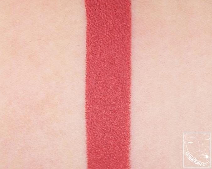 Fenty Beauty Mattemoiselle Plush Matte Lipstick in Spanked