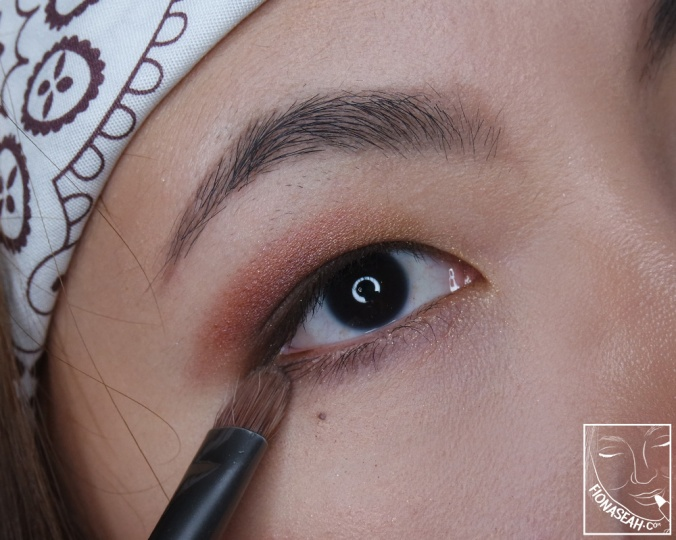 Dance In The Dark on the lower lash line to further define the eyes