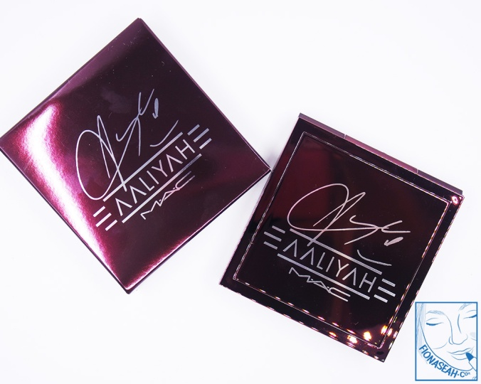 M·A·C × Aaliyah Eye Shadow X9 in Age Ain't Nothing (US$32)