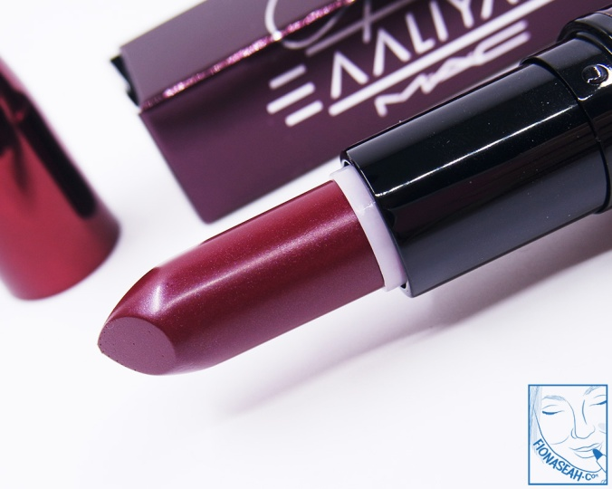 M·A·C × Aaliyah lipstick in More Than A Woman (US$18.50)
