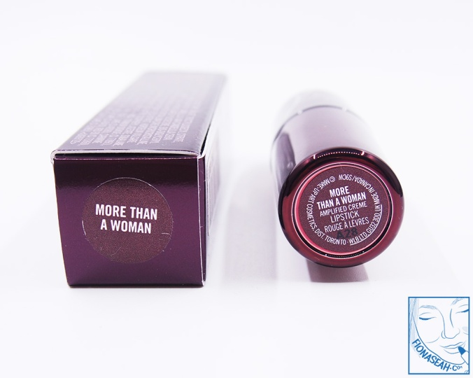 M·A·C × Aaliyah lipstick in More Than A Woman