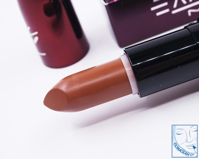 M·A·C × Aaliyah lipstick in Try Again (US$18.50)