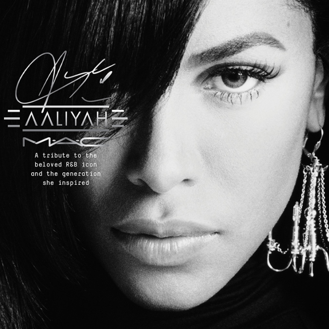 Aaliyah for M·A·C