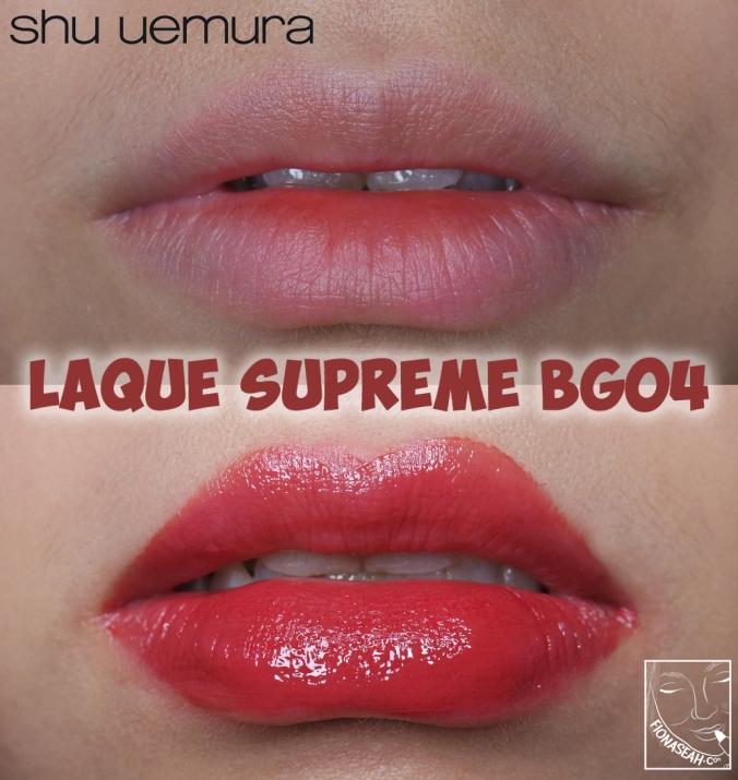 shu uemura Laque Supreme in BG04