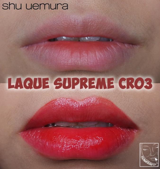 shu uemura Laque Supreme in CR03