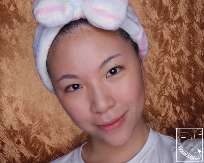 No filter, no Photoshopping - this was how my face looked after applying Erborian Pink Perfect Creme, BB Creme and CC Creme!