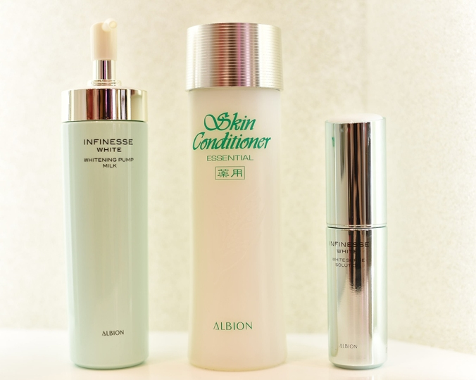 Albion skin care products
