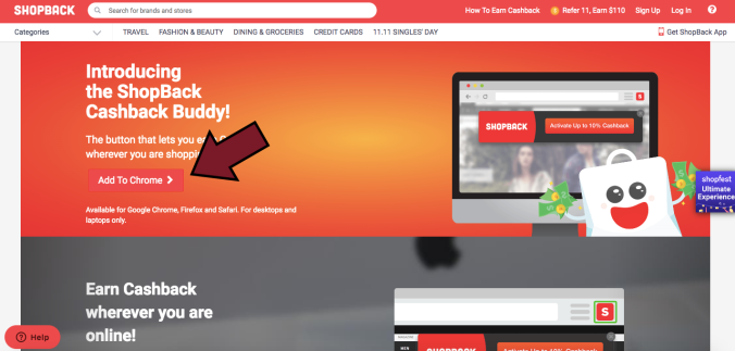 Install ShopBack Cashback Buddy on ShopBack!
