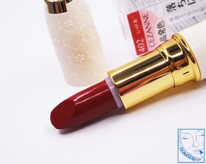 CEZANNE Lasting Lip Color N 402 (S$12.90)
