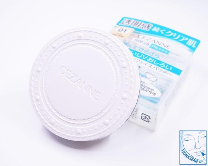 CEZANNE UV Clear Face Powder 01