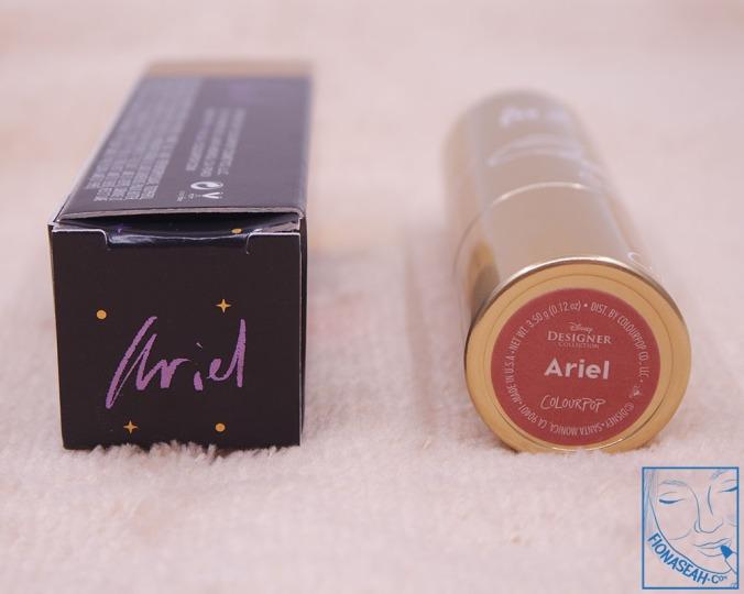 ColourPop Crème Lux Lipstick in Ariel