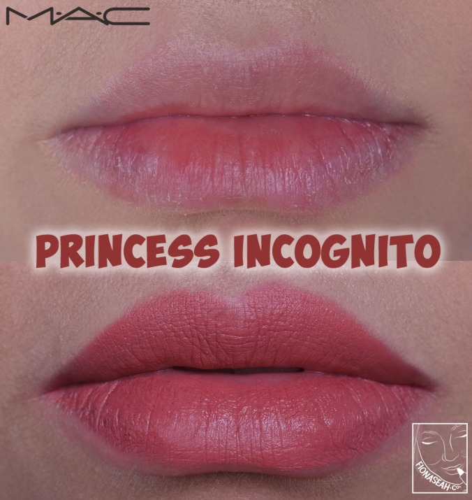 M·A·C × Aladdin Lipstick in Princess Incognito