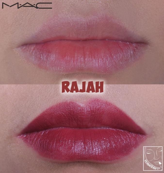 M·A·C× Aladdin Lipstick in Rajah