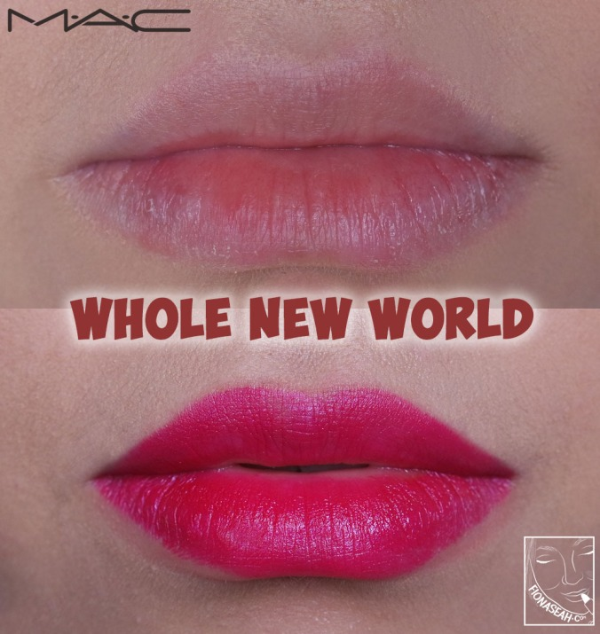 M·A·C × Aladdin Lipstick in Whole New World