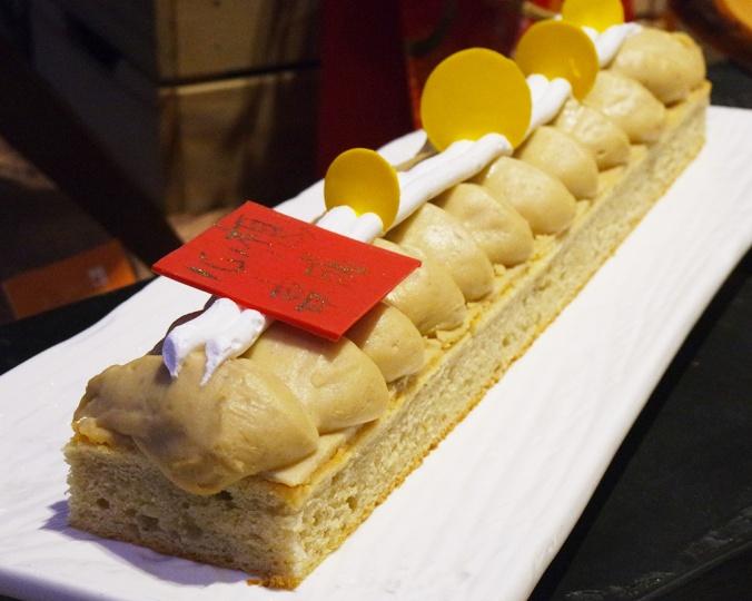Taro Butter Cake