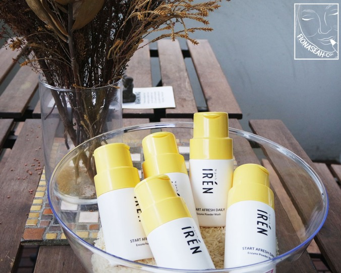 IRÉN Start Afresh Daily Enzyme Powder Wash (S$35 each)